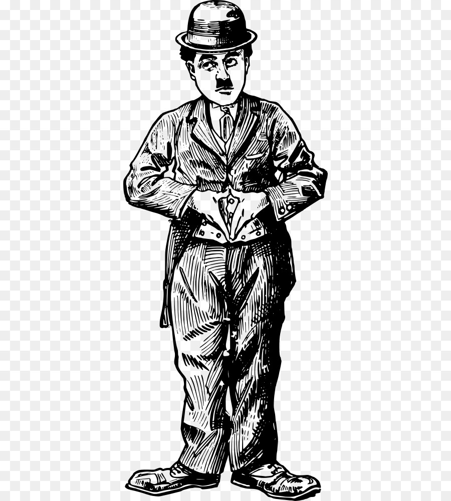 Charlie Chaplin Clothing png download.