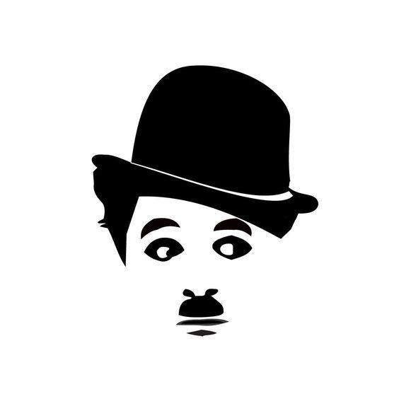 Remera Chaplin Rostro.