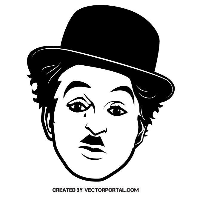 Actor Charlie Chaplin.