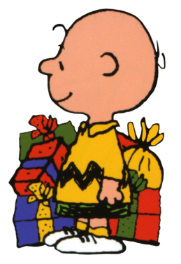 Snoopy And Charlie Brown Christmas Clipart.