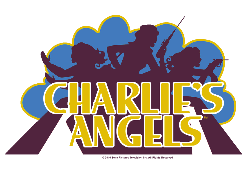 Charlie's Angels Faded Logo Kid's T.