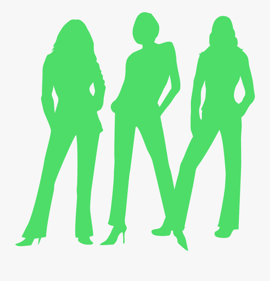 Charlie\'s Angels Silhouette Png , Free Transparent Clipart.