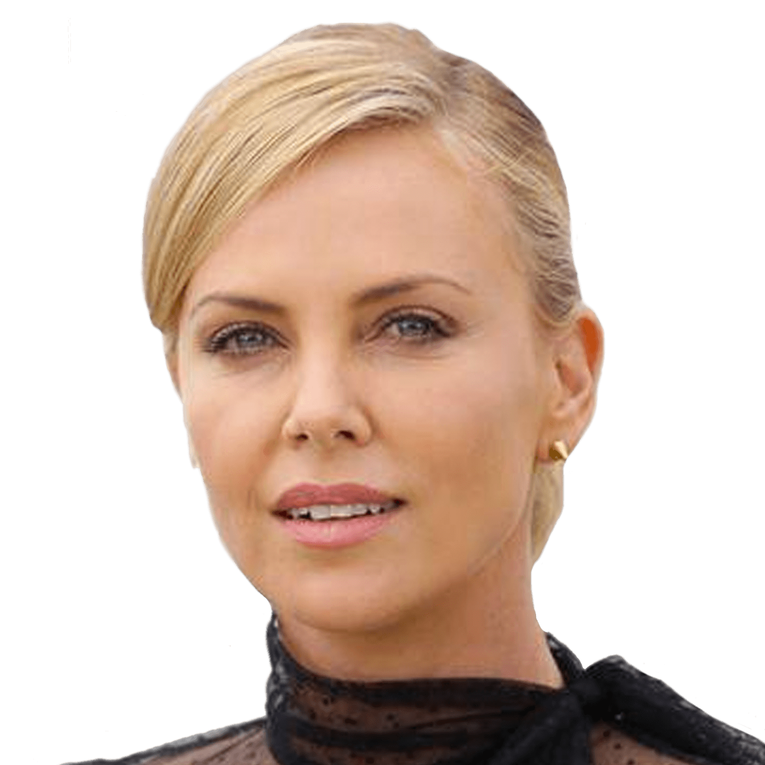 Charlize Theron Standing transparent PNG.