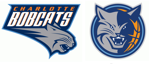 Bobcats unveil new \'Charlotte Hornets\' logo for 2014.