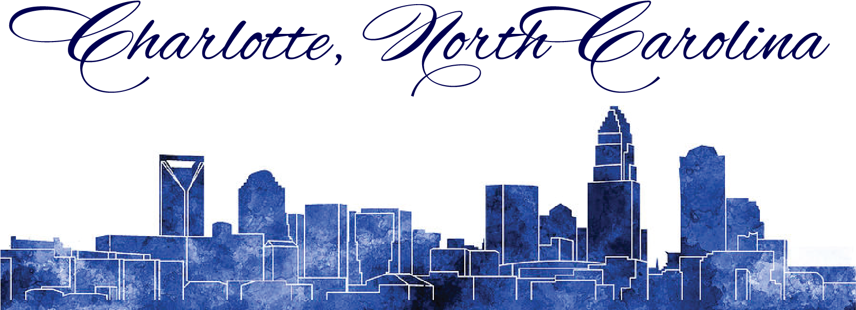 Download Clip Art Royalty Free Stock Charlotte Skyline Clipart.