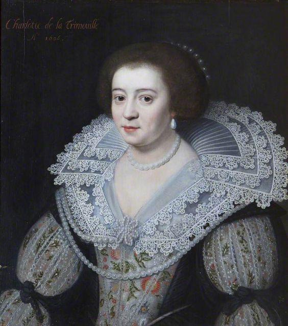 Charlotte de la Trémoïlle (1599.