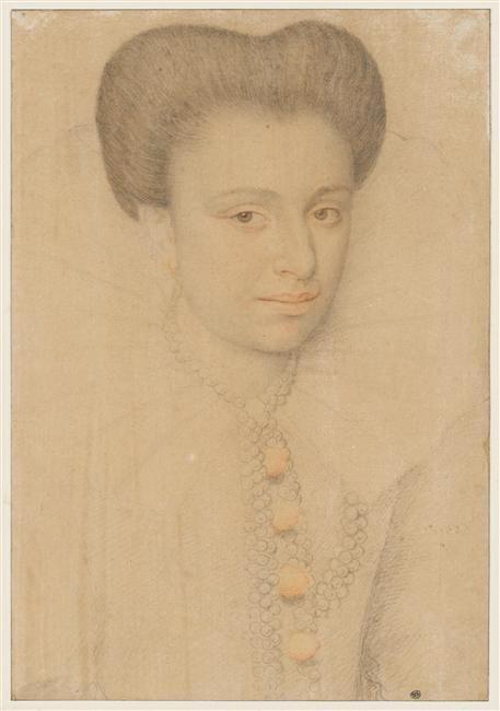 Presumed Portrait of Charlotte de la Tremoille (1568.