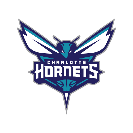 Charlotte Hornets basketball team logo vector (.EPS) download.