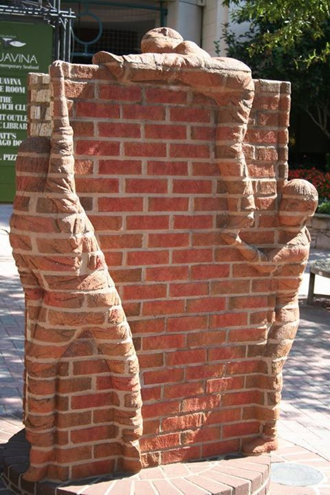 "Life is an Open Book"" Downtown Charlotte, NC Sculpture by Brad."