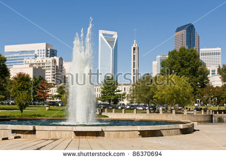Charlotte Nc Skyline Stock Photos, Royalty.
