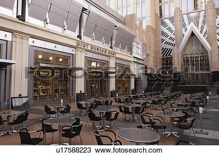 Stock Photo of Charlotte, NC, North Carolina, Downtown, Mint.
