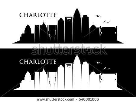 Charlotte skyline clipart 9 » Clipart Portal.