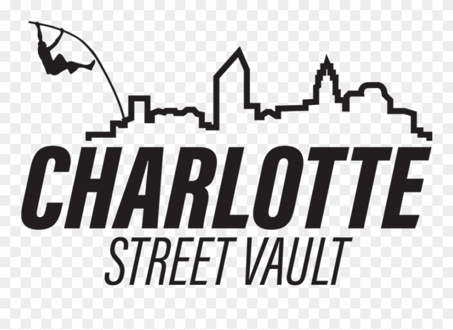 Charlotte Skyline Silhouette Png.