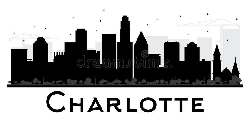 Charlotte Skyline Stock Illustrations.