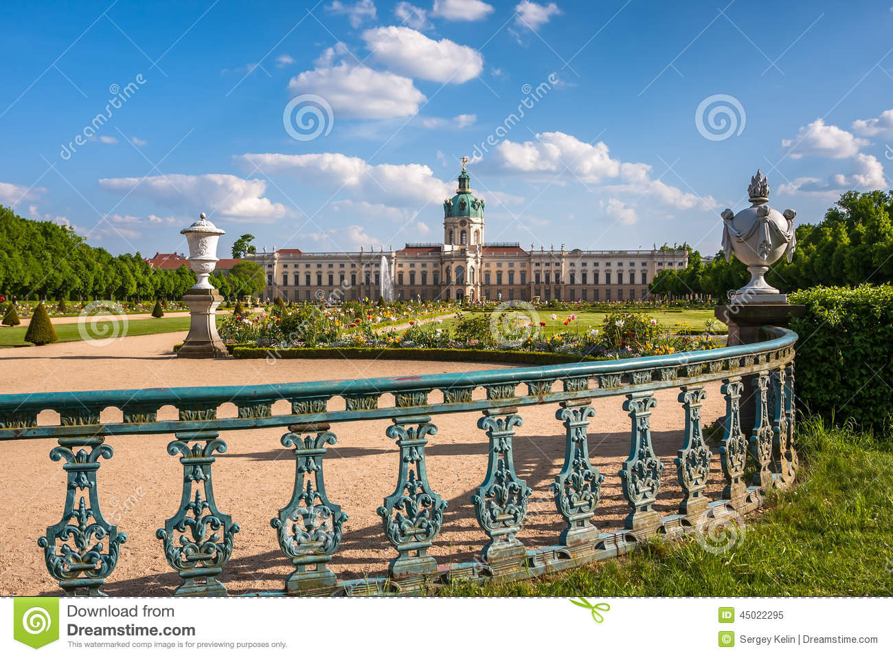 Charlottenburg Palace In Berlin, Germany Editorial Image.