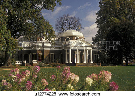 Pictures of Monticello, Charlottesville, VA, estate, Virginia.