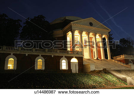 Picture of Charlottesville, VA, Virginia, University of Virginia.