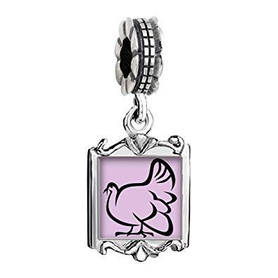 Amazon.com: GiftJewelryShop Silver Plated Cute Turkey.