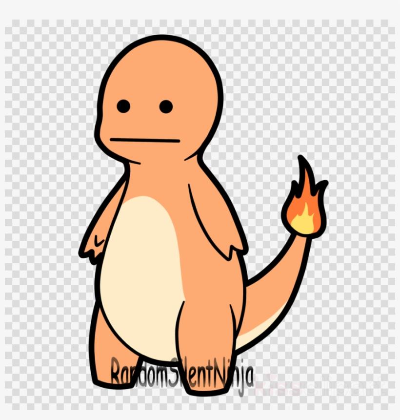Derpy Charmander Clipart Charmander Pokémon Bulbasaur PNG Image.