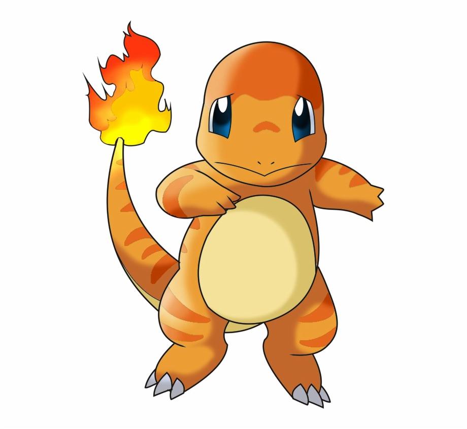 Pokemon Charmander Free Png Image.