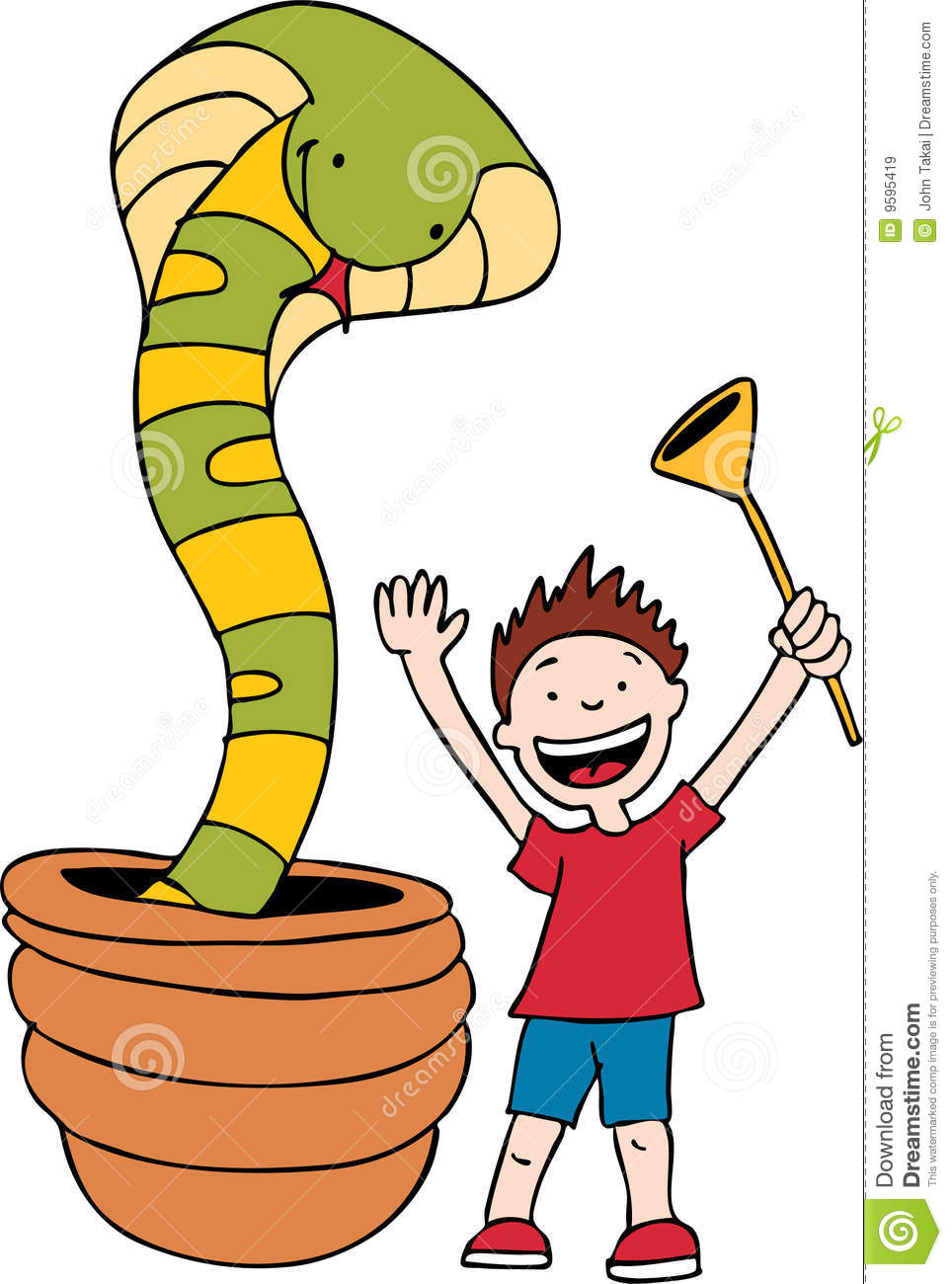 Snake Charmer Royalty Free Stock Images.
