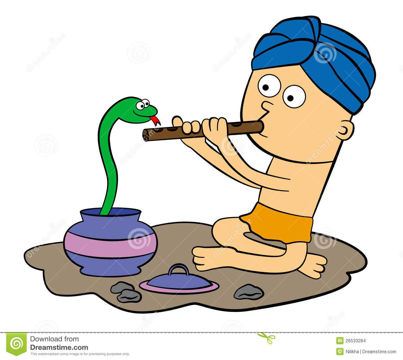 Snake Charmer Stock Illustrations.