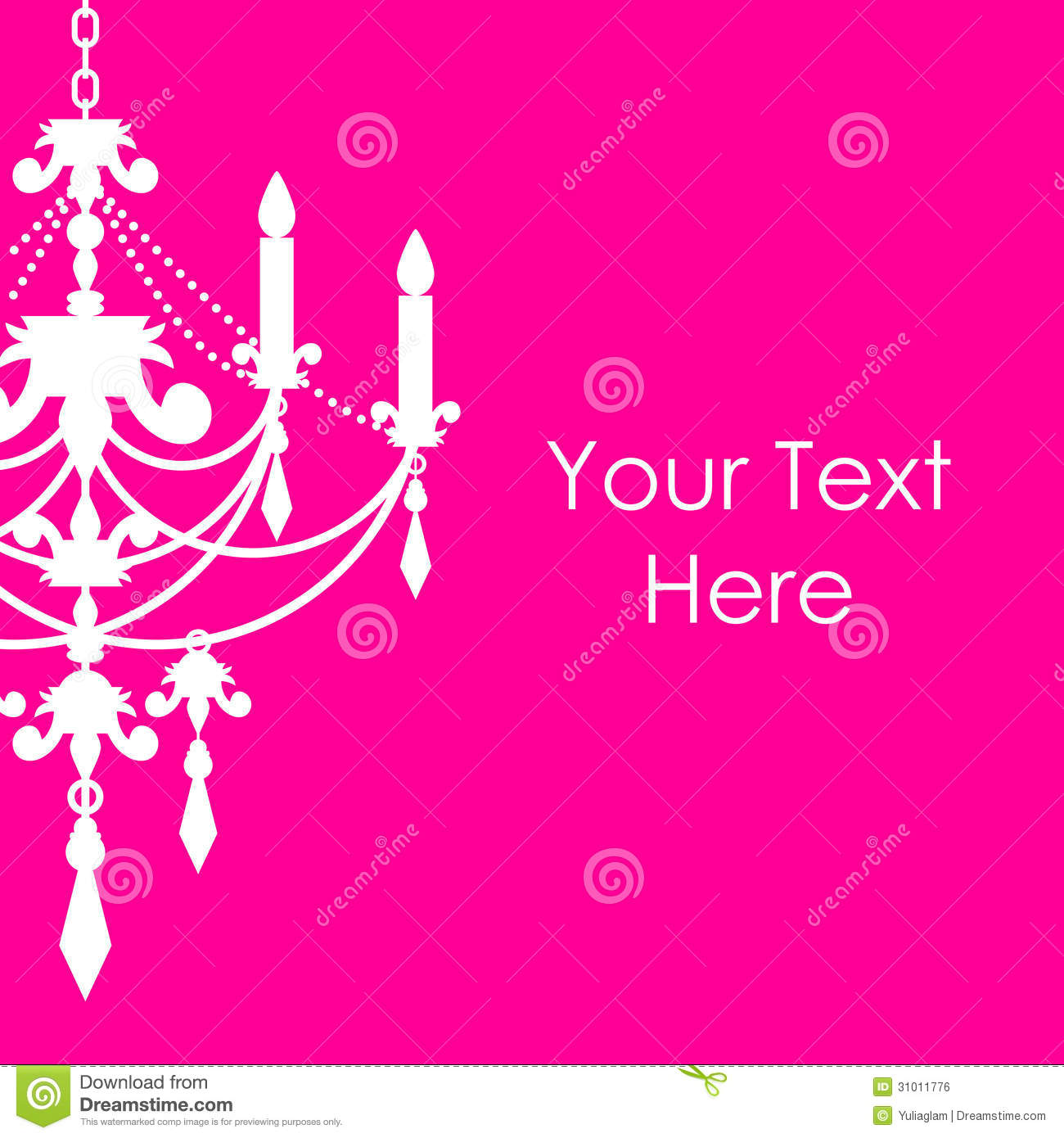 Enchanting Pink Chandelier Graphic Charming Home Decoration Ideas.