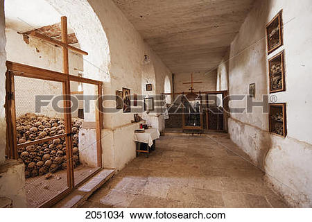 Stock Photo of Ossuary (Charnel House) Of The Holy Monastery Of St.