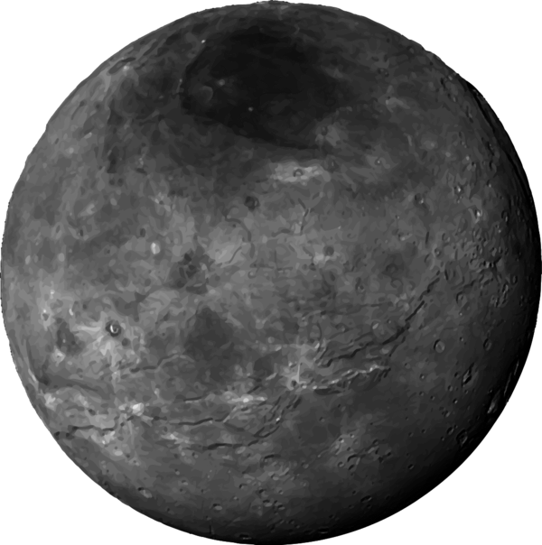 Charon isolated.