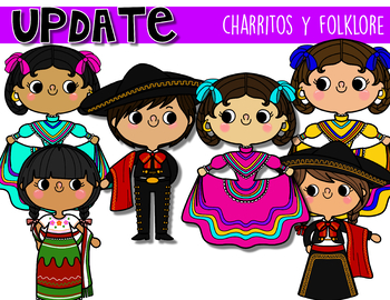 Charritos and Folklore Clipart.