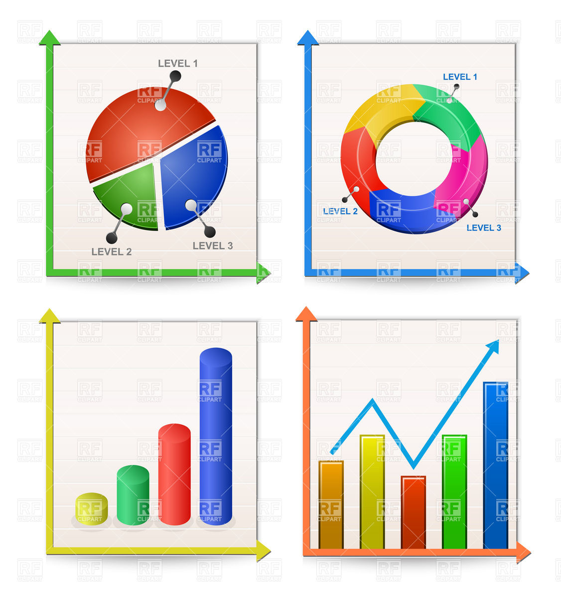 Graphics clip art free scale chart.