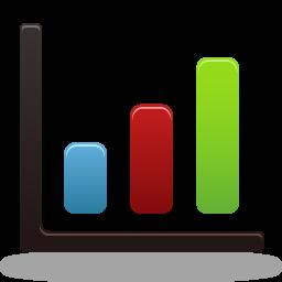 Bar chart Icon.