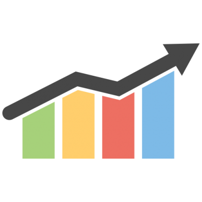 Download BUSINESS GROWTH CHART Free PNG transparent image and clipart.
