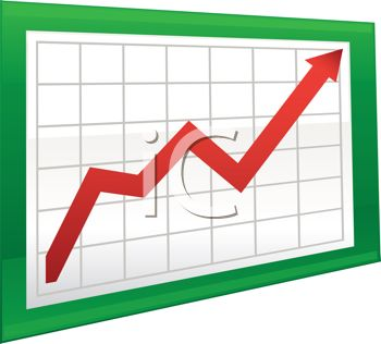 Arrow clip art for charts.