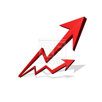 Arrow chart Vector Image #46.