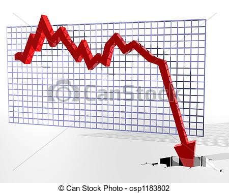 Clip Art of Chart showing bad things.