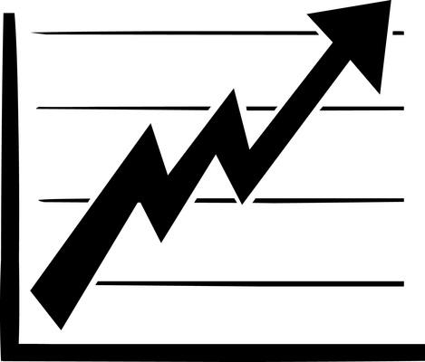 Line Chart Clipart.