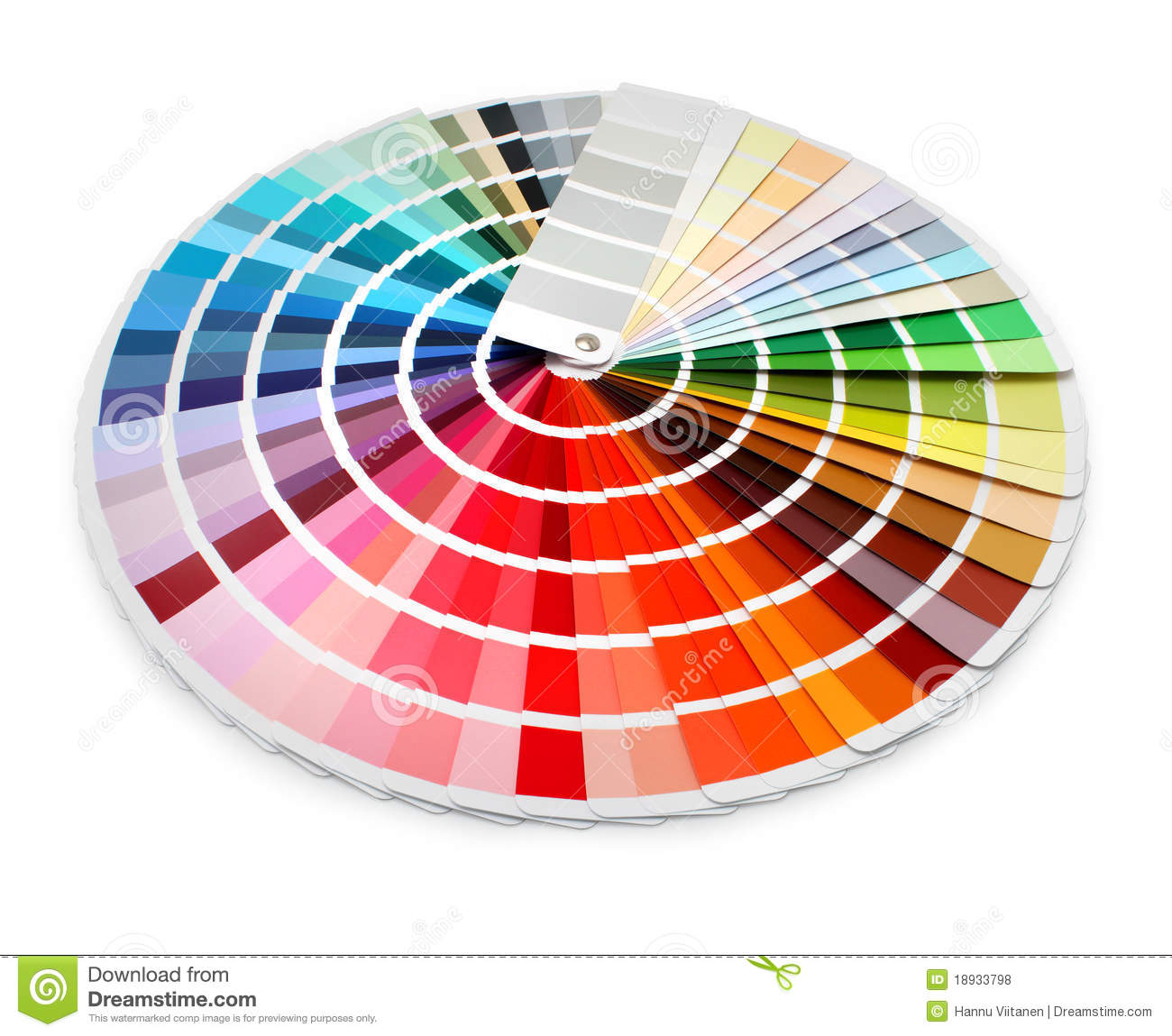 Color spectrum clipart.