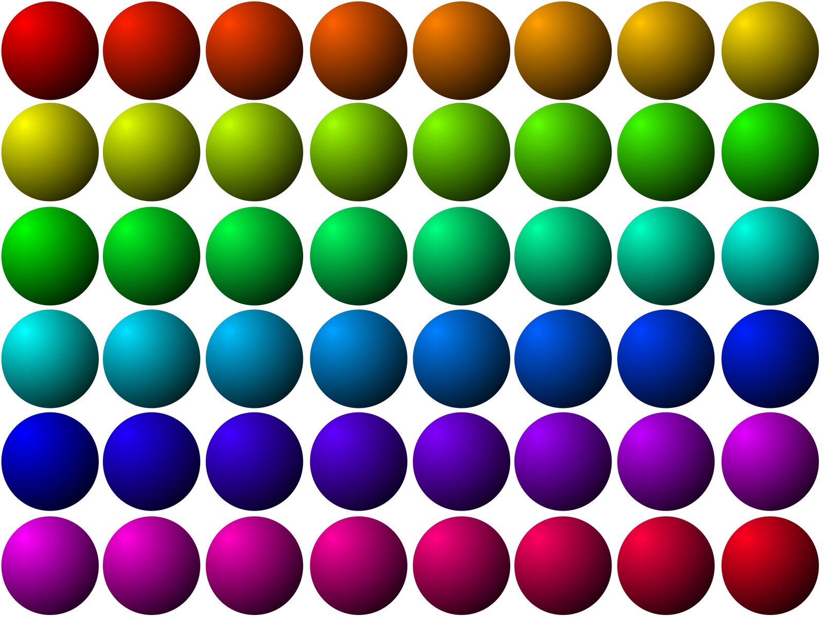 Color Chart 3d Dots Sphere Globe Ball Free Use Clipart Clip Art.