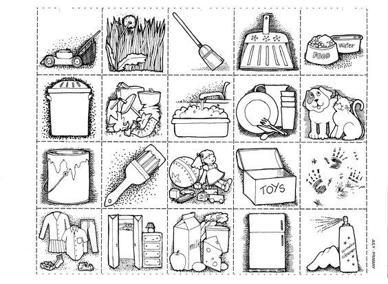 Mormon Share } Chores Page.