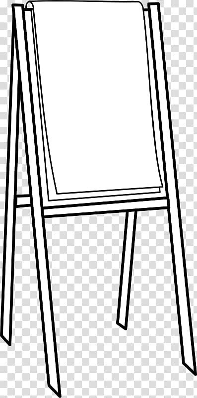 Paper Flip chart , Easel transparent background PNG clipart.