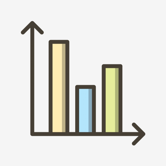 Bar Chart Vector Icon, Analysis Icon, Bar Icon, Chart Icon PNG and.