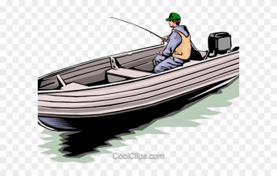 Fishing Boat Clipart Skiff.