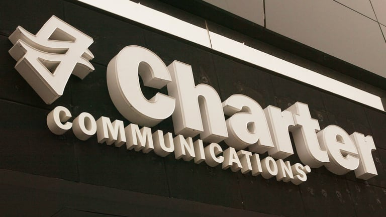 Charter Communications Falls on Buyout Chatter, Frontier.