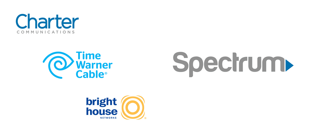 Brand New: New Name and Adopted Logo for Time Warner Cable.