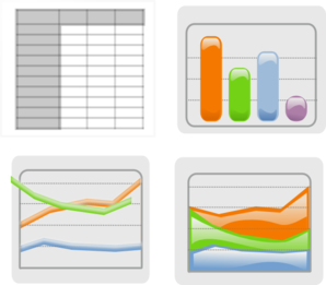 Charts Clipart.
