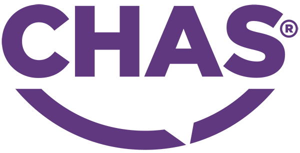 We have rebranded CHAS.