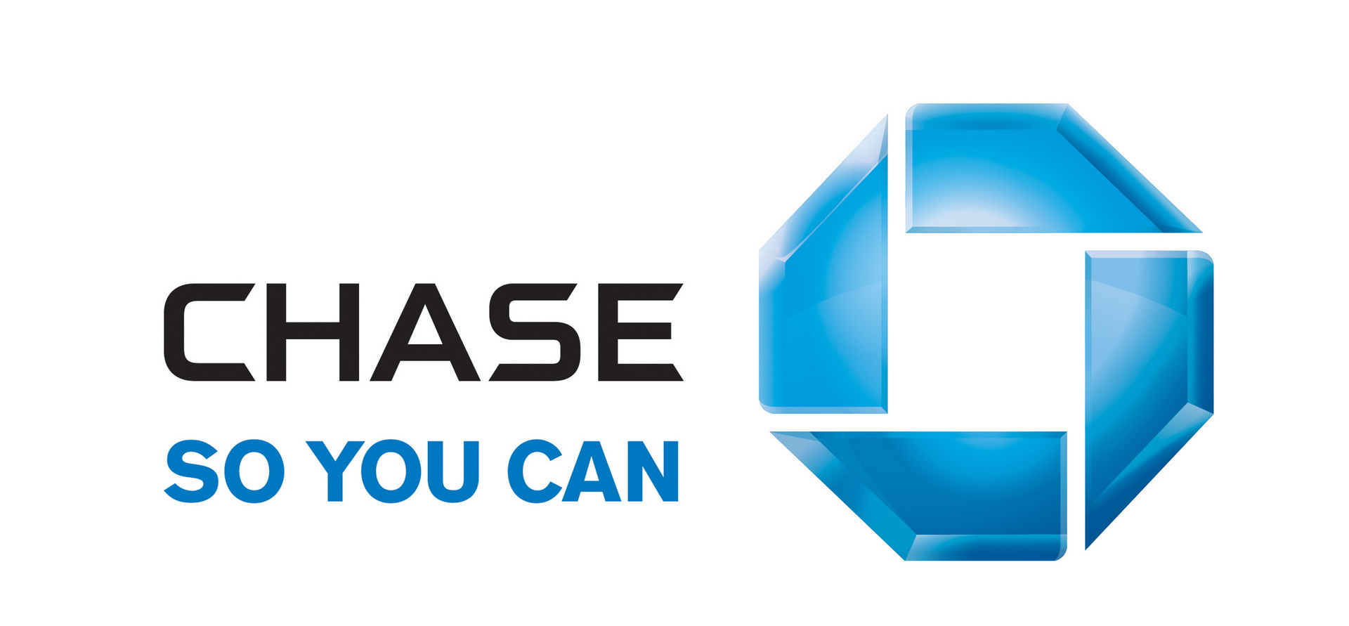 History of Chase Bank Logo.
