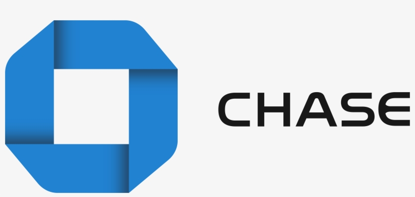 At Quick Glance Looking At The Current Chase Bank Logo, PNG Image.