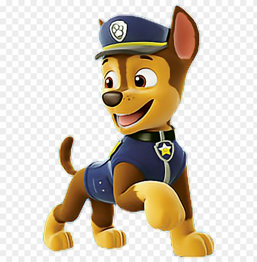 raphic black and white stock paw patrol chase clipart.